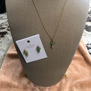 Kate Spade Necklace and Earring Set.  NWT